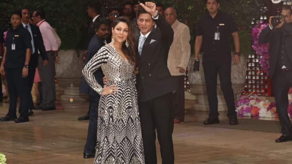 Akash Ambani-Shloka Mehta pre-engagement bash: Shah Rukh Khan-Gauri, Ranbir Kapoor, Karan Johar make a starry entry