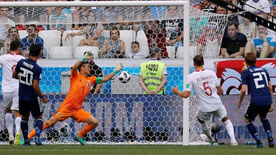 Japan slip through to FIFA World Cup 2018 round of 16 despite Poland loss