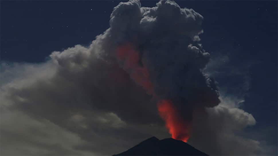 Bali shuts international airport after volcanic eruption, thick smoke and ash seen billowing