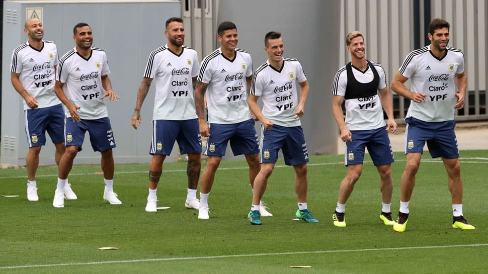 Argentina's presence in FIFA World Cup knockout stage gives team confidence, says Argentina's Federico Fazio