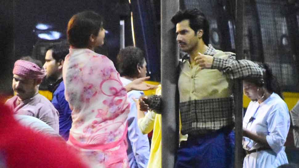 Varun Dhawan, Anushka Sharma return to sets of 'Sui Dhaaga' — See pics