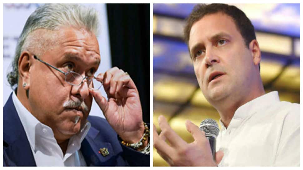 BJP attacks Congress after Vijay Mallya retweets Rahul Gandhi's post