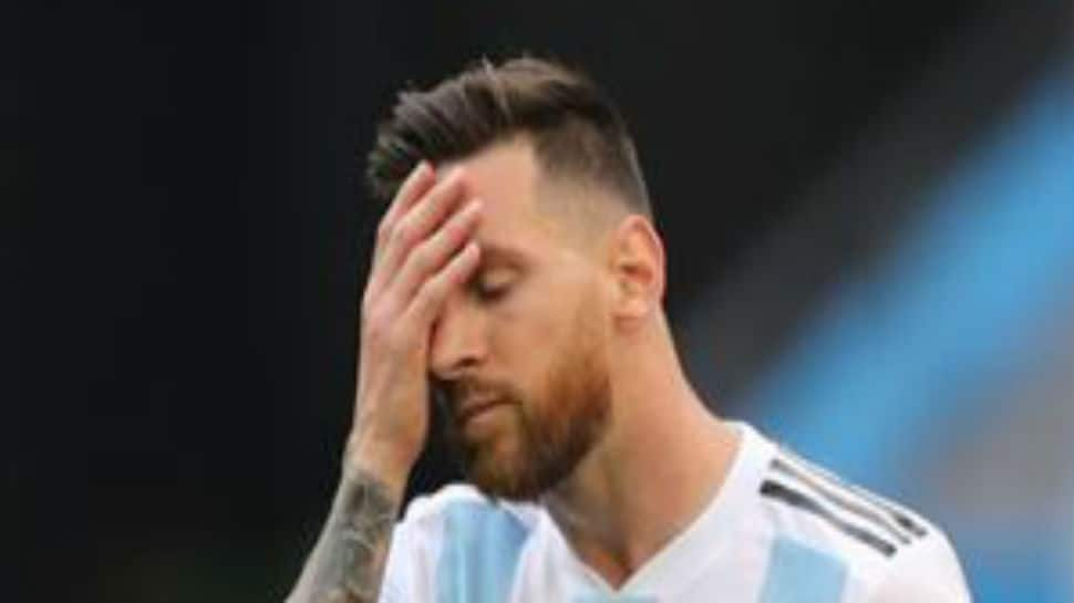 Emotional Lionel Messi stares into abyss as Argentina bow out of FIFA World Cup 2018