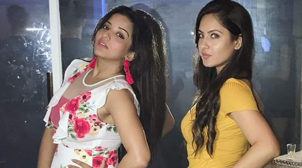Bhojpuri sizzler Monalisa's pic with Puja Banerjee is breaking the internet-See inside