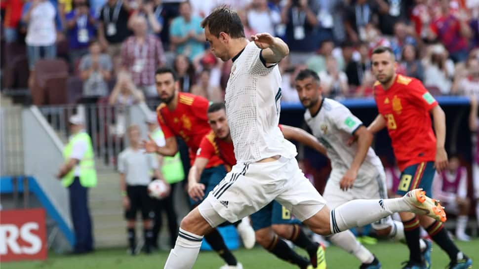 Russia knock Spain out of FIFA World Cup 2018 on penalties to enter quarterfinals