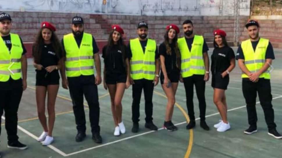 Lebanon's women police officers wear mini shorts, reason sparks intense debate