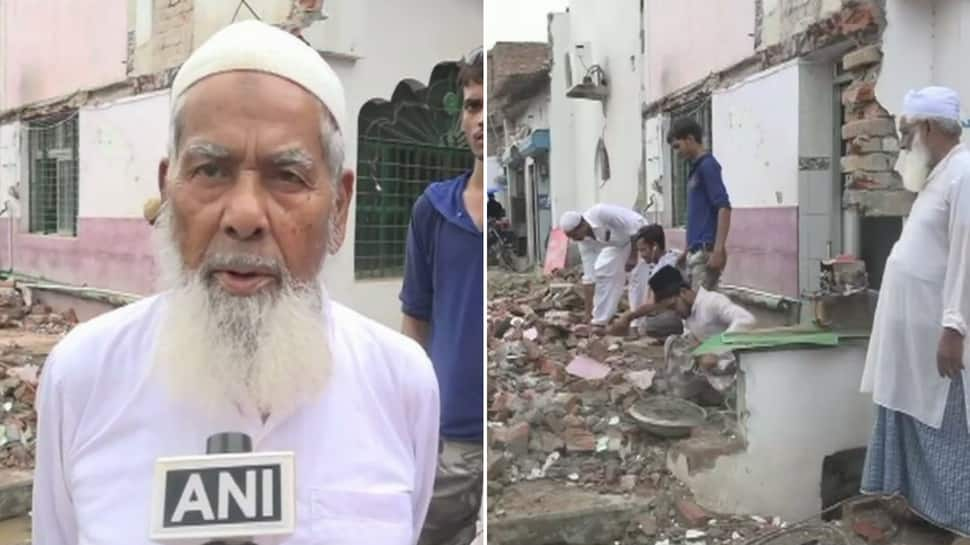Muslims voluntarily demolish parts of mosques as UP govt plans to widen roads for Kumbh mela