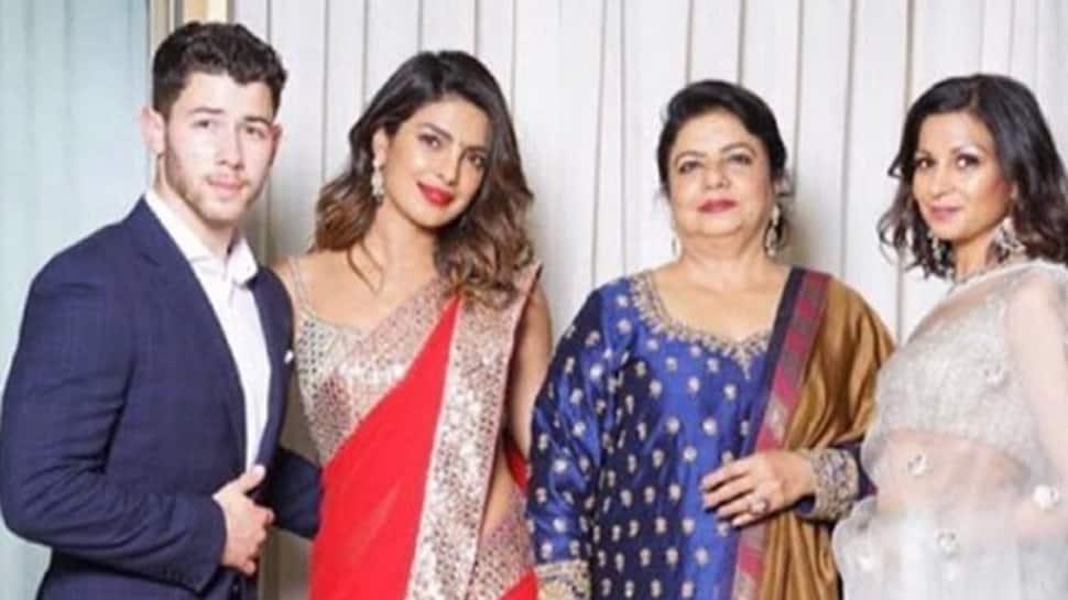 Priyanka Chopra poses with rumoured beau Nick Jonas and mom Madhu Chopra in one frame—See pic