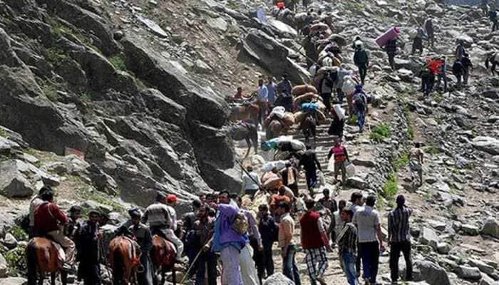 At least 5 dead, 3 injured in landslide on Amarnath yatra Baltal route