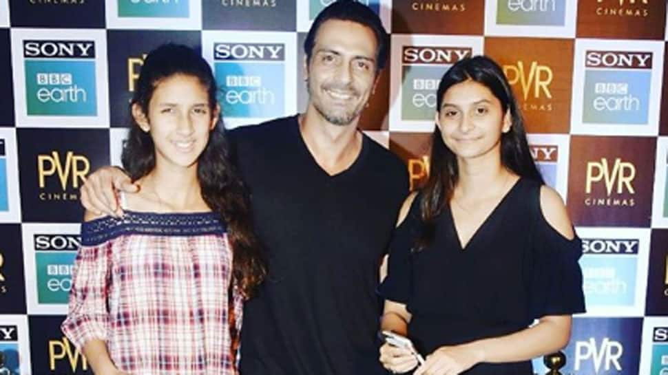 Arjun Rampal shares family pic, and it's adorable!