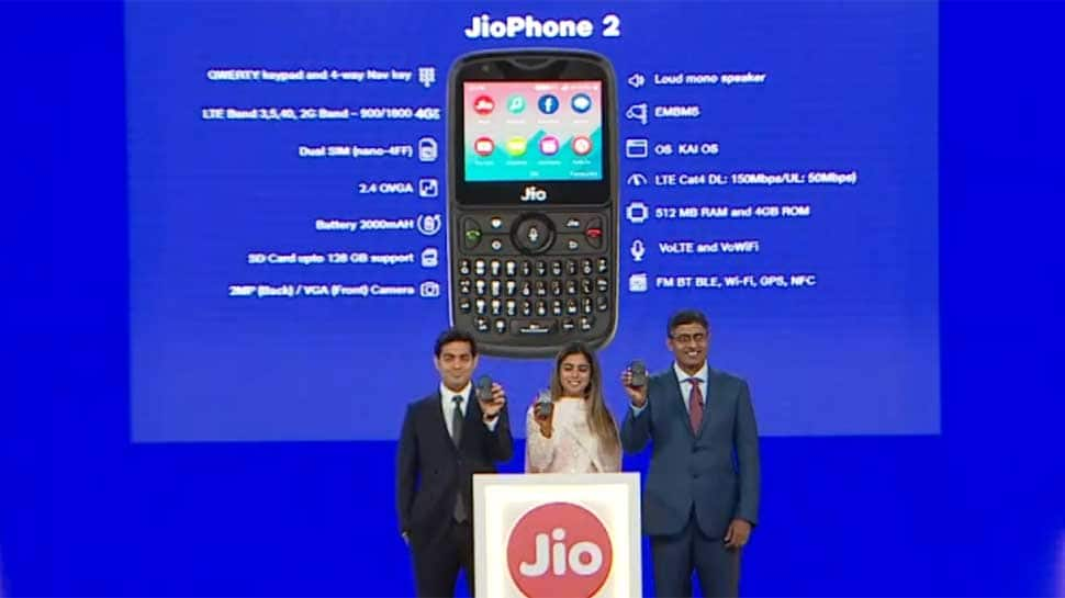Reliance launches JioPhone 2: Check out key features