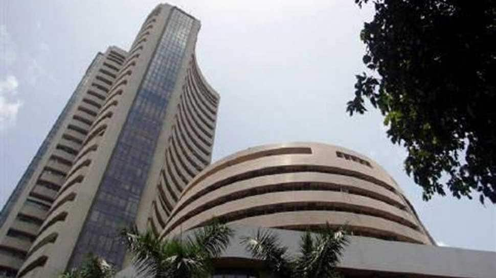 Sensex rebounds over 83 points to close at 35,657 after a day of volatile trade