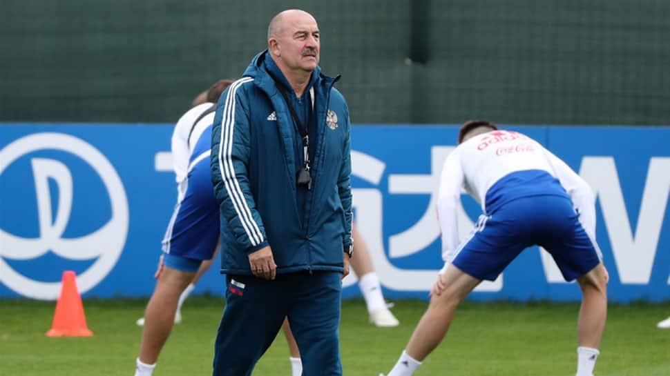 Russia coach Stanislav Cherchesov not getting carried away despite calls of support from President Vladimir Putin