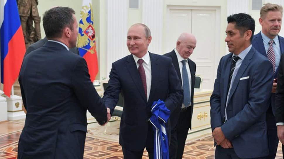 President Vladimir Putin says World Cup has broken stereotypes about Russia