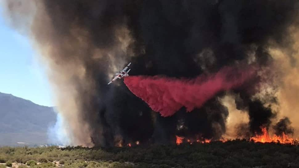 California wildfire claims season's first fatality
