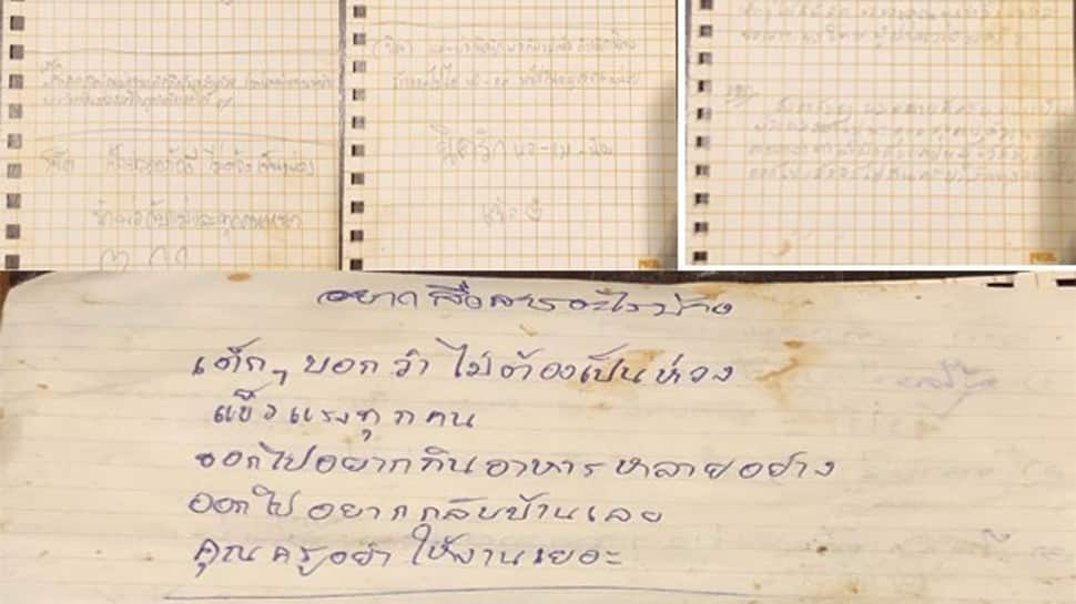 Want Pork shabu, fried chicken after this: Stranded Thai kids send heartwarming notes for family