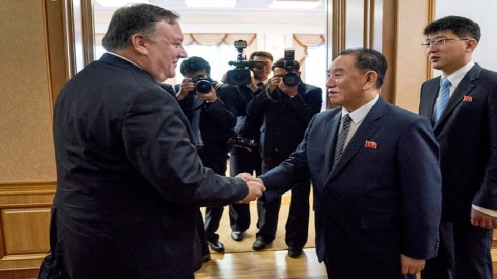 Pompeo says made progress with North Korea, more work needed