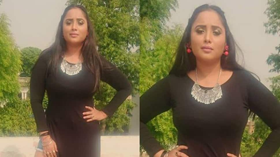Bhojpuri sizzler Rani Chatterjee looks smouldering in a high-slit dress