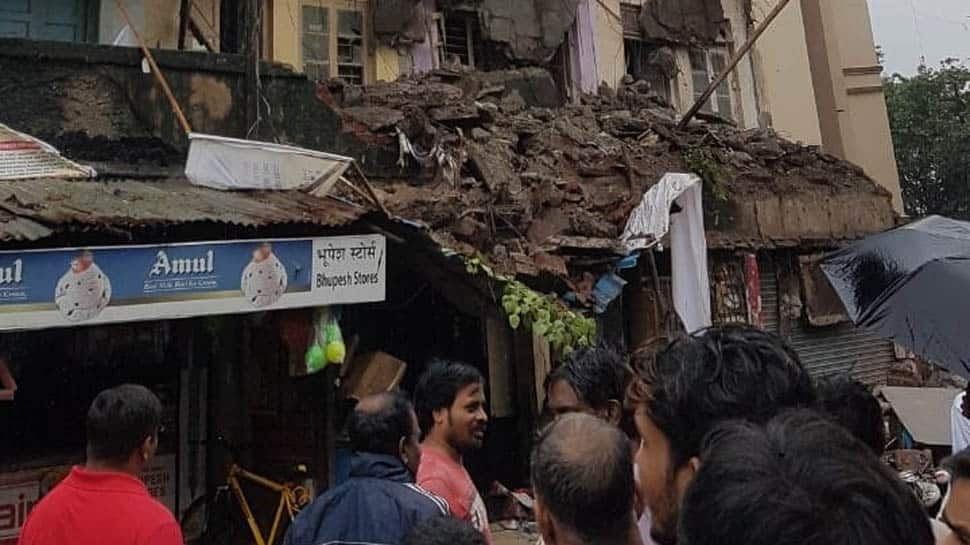 Part of 3-storey building collapses in Mumbai's Kurla, no injuries reported