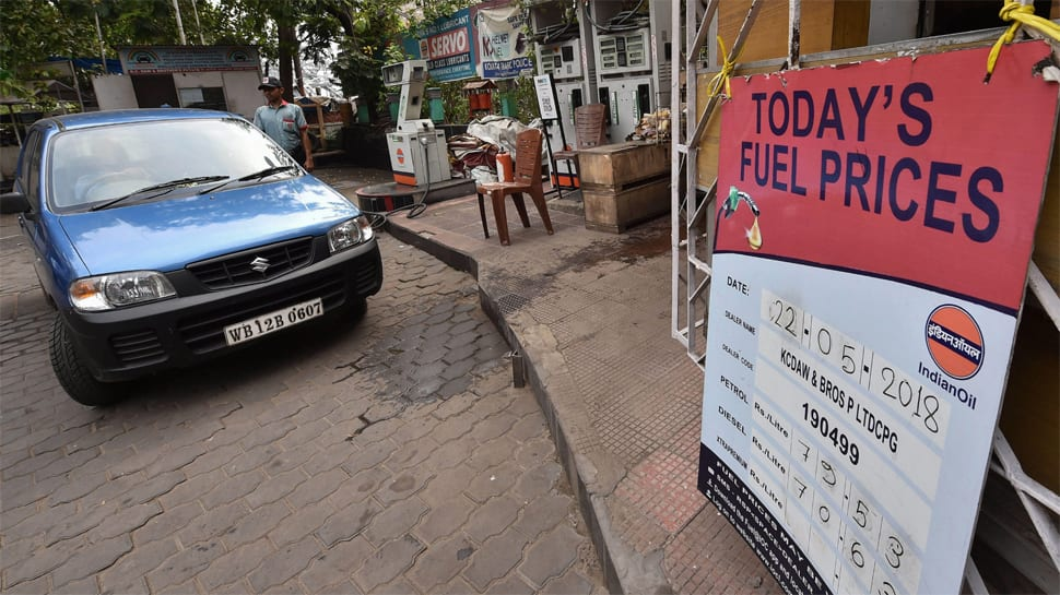 Petrol, diesel prices hiked for fifth consecutive day