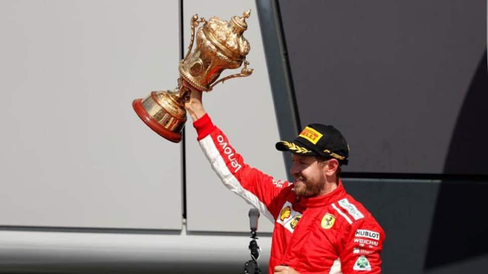 Sabastian Vettel wins British Grand Prix, Hamilton finish second