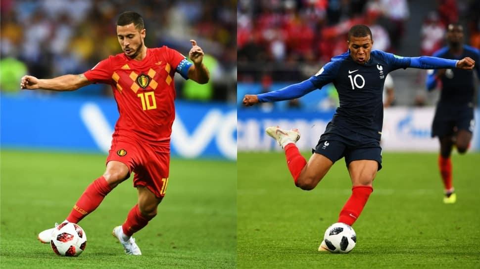 FIFA World Cup: France vs Belgium head to head battles