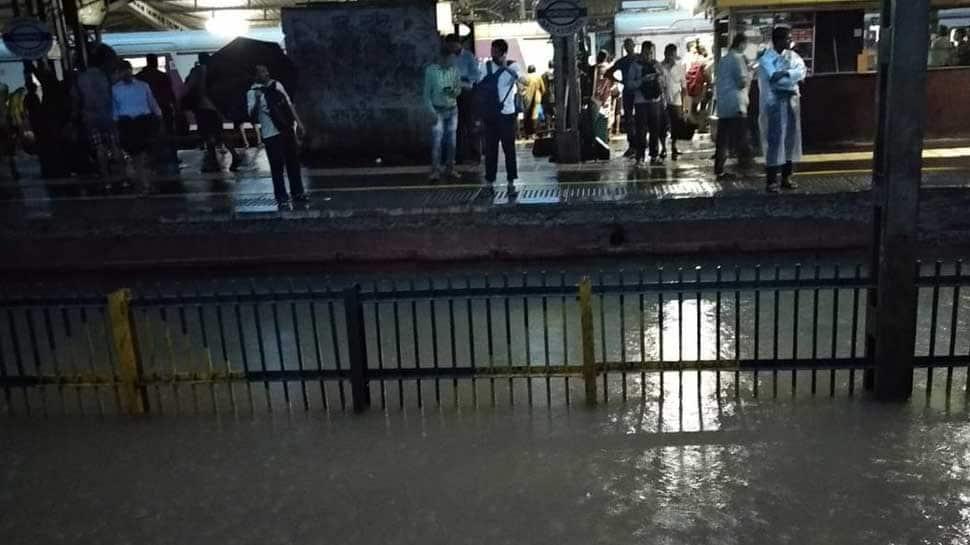 Mumbai rail, road traffic update: Local train services halted at Nala Sopara due to waterlogging