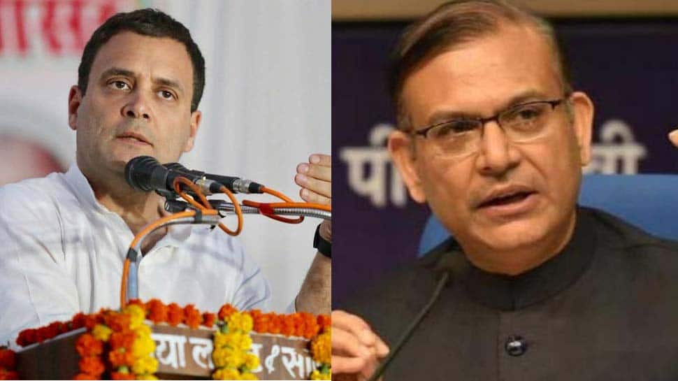 Jayant Sinha garlanding criminals is disgusting: Rahul Gandhi backs petition to withdraw BJP MP's Harvard alum status