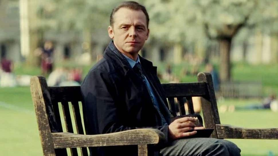 Simon Pegg talks about his struggle with alcoholism, depression
