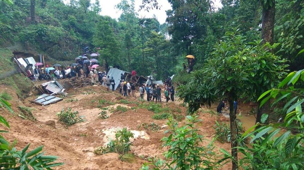 9 dead as landslide hits Manipur's Tamenglong