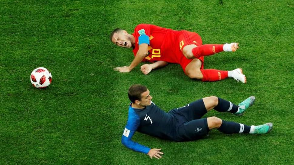 Brussels metro plays French soccer anthem after losing World Cup bet