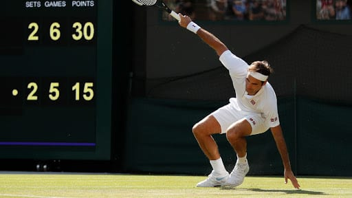 8-time champion Roger Federer knocked out of Wimbledon by Kevin Anderson
