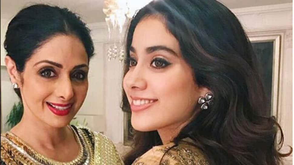 When for a split second Janhvi Kapoor saw mother Sridevi in her 'Dhadak' scene
