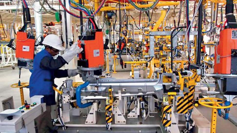 Industrial output grows 3.2 per cent in May, retail inflation moves up to 5 per cent in June