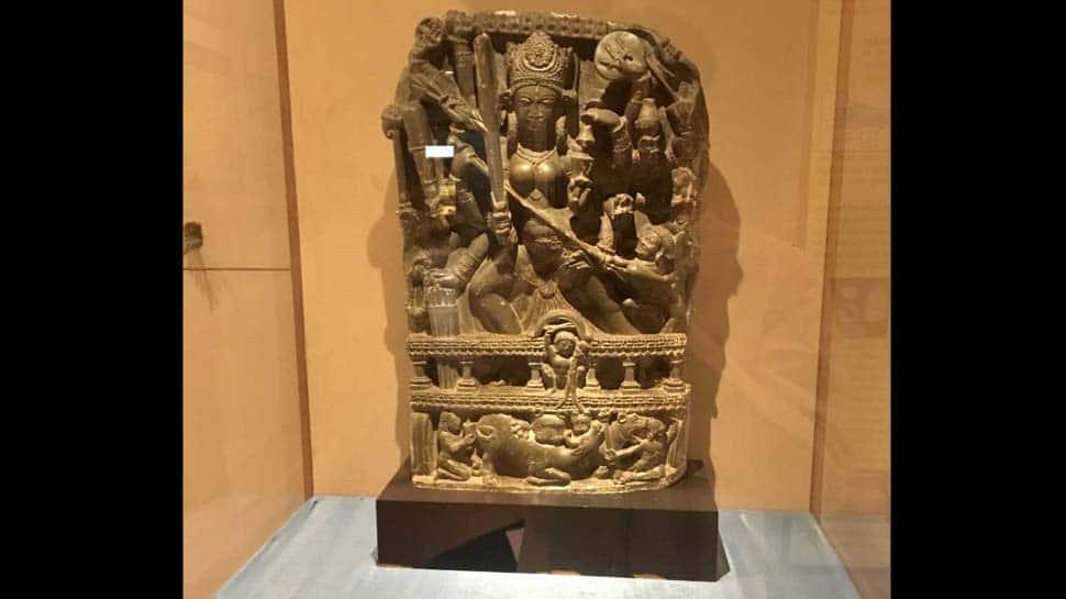 A walk through Srinagar's Shri Pratap museum featuring ancient Durga idol once stolen from Valley