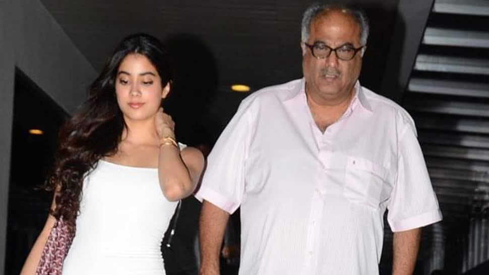 Boney Kapoor gets emotional after watching Janhvi Kapoor's 'Dhadak'
