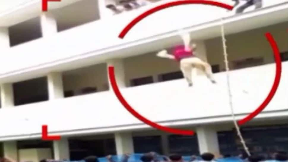 BBA student falls to death after being pushed from 3rd floor during mock drill