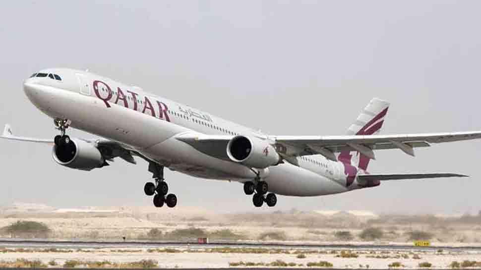 Qatar Airways flight with 306 passengers on board lands off-centered on Kochi runway