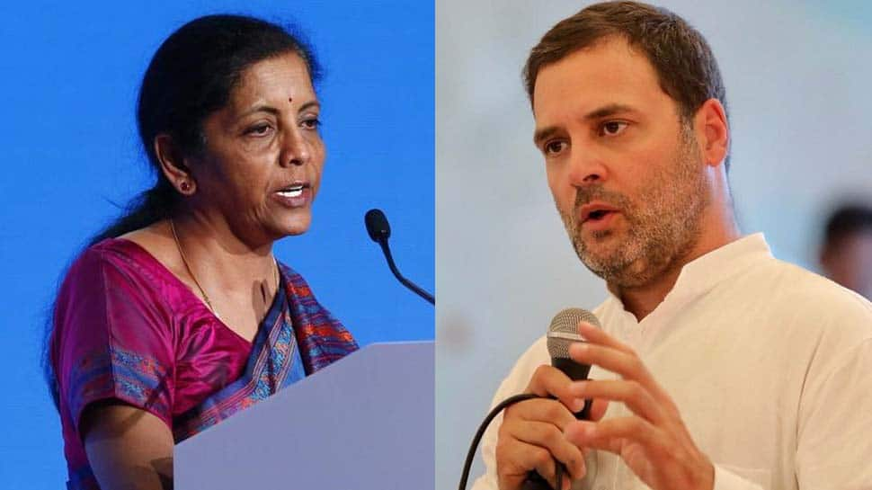Congress playing dangerous game, creating Partition like situation: BJP leader Nirmala Sitharaman