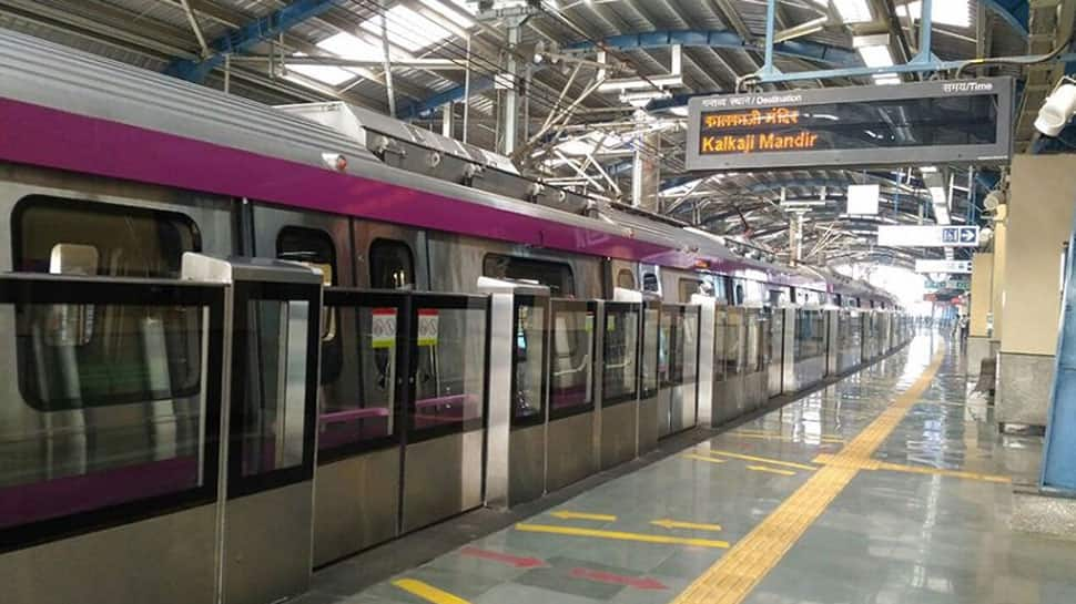 Delhi Metro's Magenta Line services between RK Puram and IGI T1 Airport hit during evening rush hours