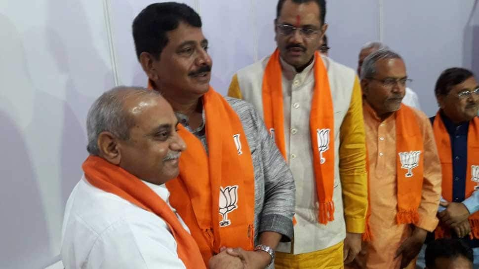Setback for Congress in Gujarat as Shankersinh Vaghela's son joins BJP