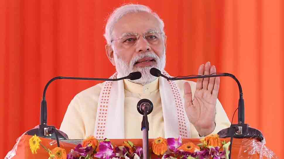 PM Narendra Modi dedicates Varanasi gas distribution project to the nation
