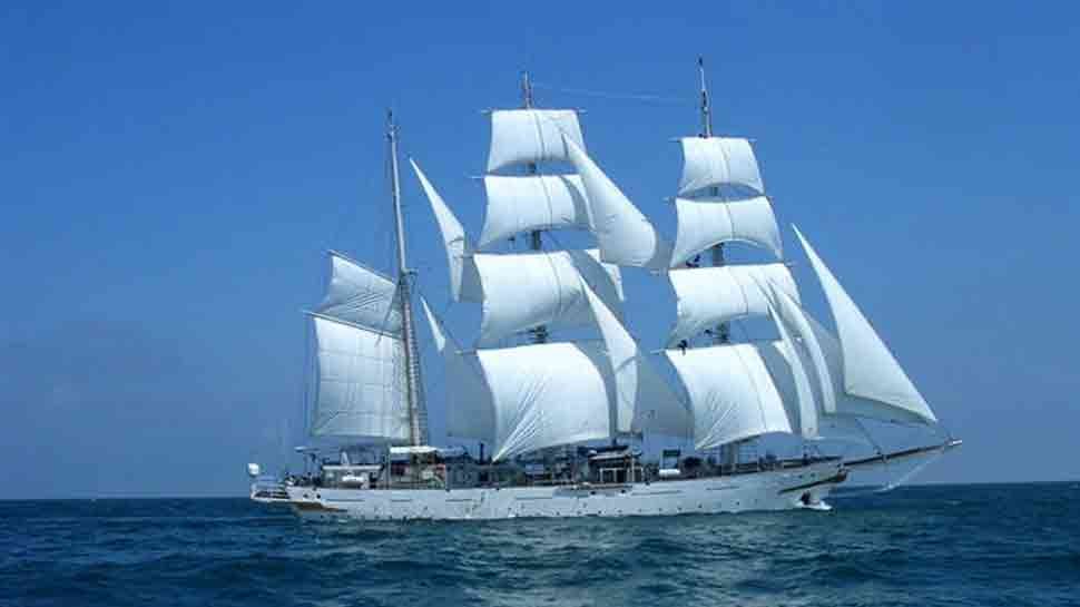 INS Tarangini sets sail for Tall Ships Races in United Kingdom