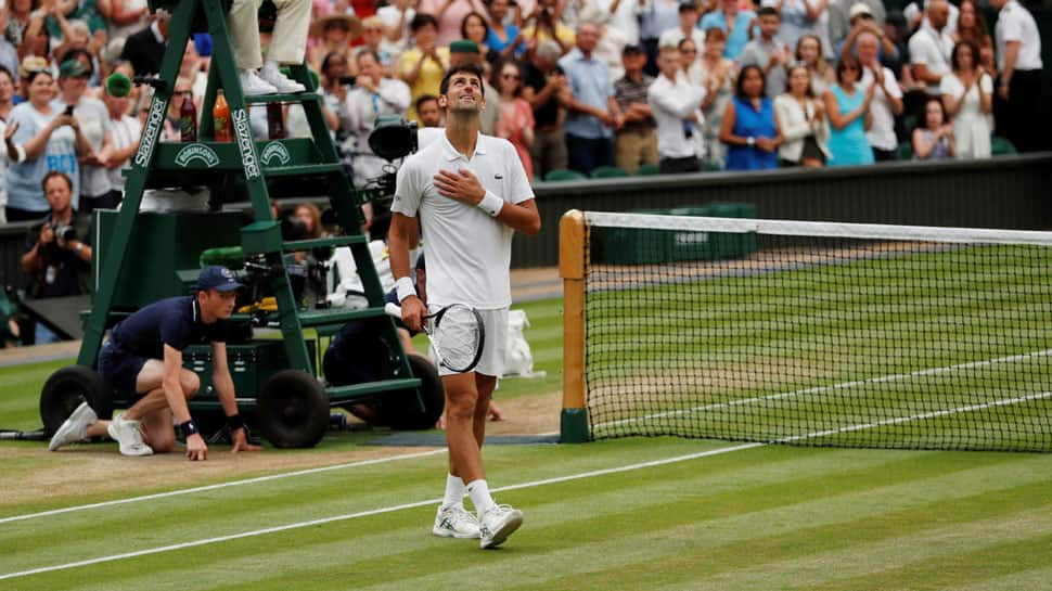 Novak Djokovic outlasts Rafael Nadal in Wimbledon's semi-final match