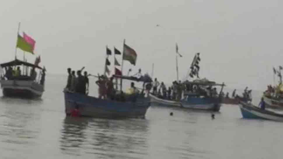 Boat carrying 30 people capsizes in Andhra Pradesh's east Godavari, 7 missing