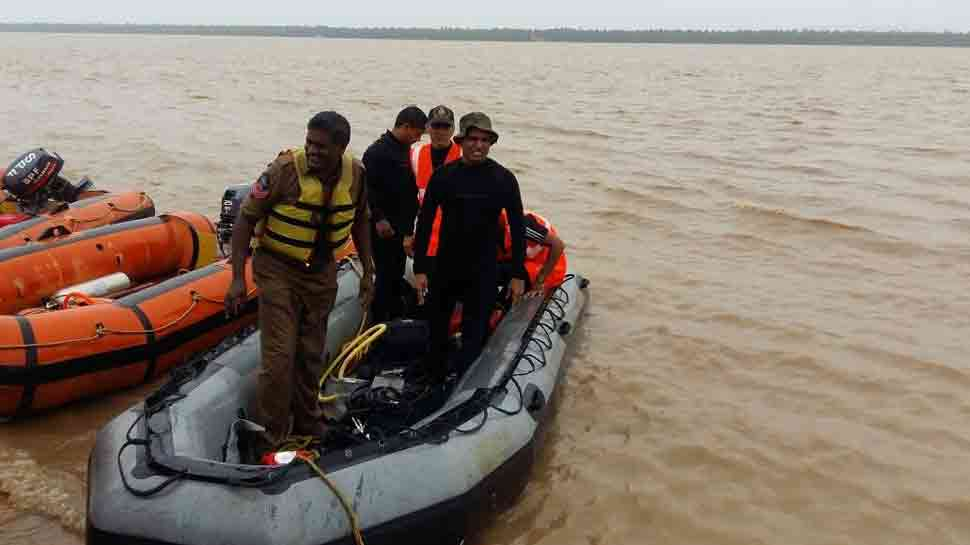 Andhra boat capsize: 1 body recovered, bad weather hits search operation