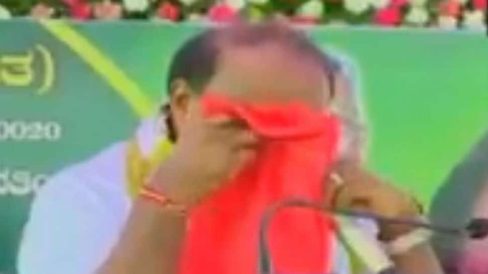 Be courageous: Congress' advice to emotional Kumaraswamy on running coalition government