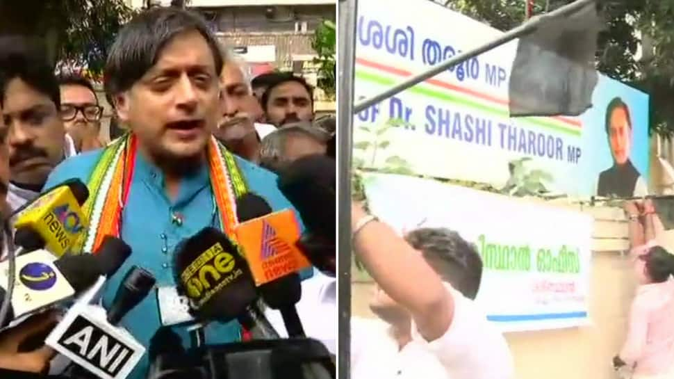 Is this the India we want: Shashi Tharoor lashes out at BJP after attack on his office in Kerala