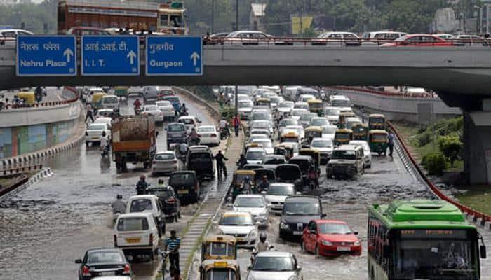 Delhi HC pulls up authorities over water logging in capital, seeks report in 10 days