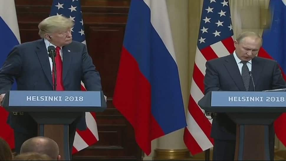 The ball is now in your court, Vladimir Putin tells Donald Trump in joint address